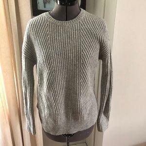 Gray Gap sweater